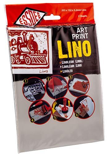 ESSDEE - Linoleum per Stampe artistiche (305x 203x 3,2mm, Confezione da 2)