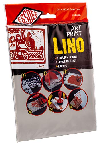 ESSDEE: Linóleo Art Print (305x 203x 3,2mm, Paquete de 2)