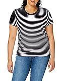 Levi's tee Camiseta, Raita Stripe Caviar, M para Mujer