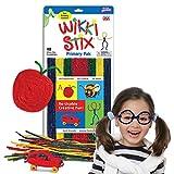 WikkiStix Wax Sticks Primary Colors, 48 Per Pack