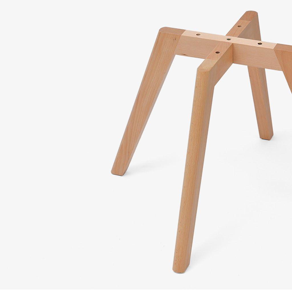 XXT Chaire en Bois Chaise d'ordinateur Moderne Simple Chaise de Bureau arrière créative Durable (Color : B) D