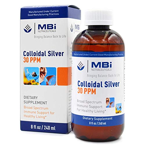 MBI Nutraceuticals Colloidal Silver 30 PPM