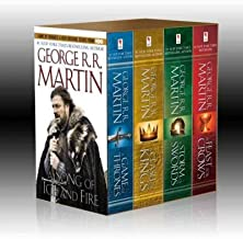 Song of Ice & Fire 4 Volume Boxed Set: A Game of Thrones, a Clash of Kings, a Storm of Swords, and a Feast for Crows (A So...