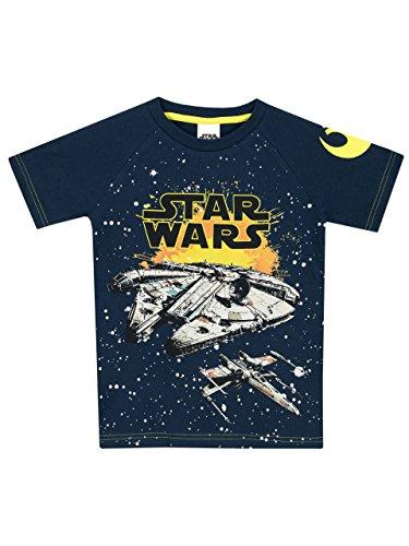 Star Wars Jungen Millennium Falke T-Shirt 122