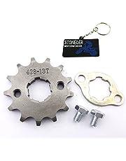 STONEDER 428 13 dientes 20 mm cadena delantera engranaje para 50 cc 70 cc 90 cc 110 cc 125 cc 140 cc 150 cc 160 cc motor ATV Pit Dirt Trail Bike