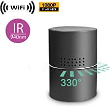 1080P HD Spy Camera with WiFi Digital IP Signal, Recording (Sorry, No P2P) Camera Hidden in a Multimedia Speaker.