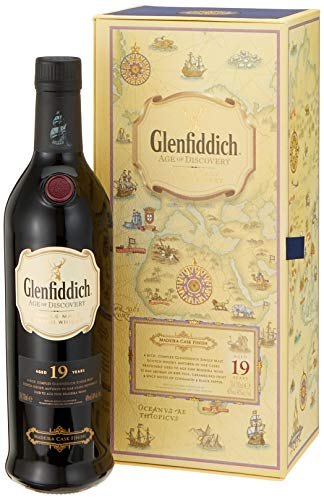 Glenfiddich 19 Years Old Age of Discovery 1st Release Madeira Cask Finish mit Geschenkverpackung  Whisky (1 x 0.7 l)