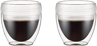 BODUM ボダム PAVINA OUTDOOR パヴィーナ アウトドア ダブルウォール グラス (プラスチック製) 250ml 2個セット クリア【正規品】 11848-10SA