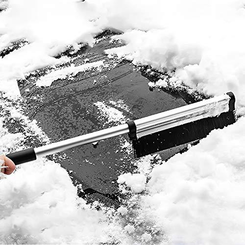 Omabeta Pala de Nieve Herramienta de Limpieza de eliminación de raspado de Hielo de Nieve Flexible Raspador de Hielo Duradero para automóvil