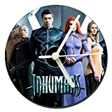MasTazas Inhumans Anson Mount Serinda Swan Reloj CD Clock 12
