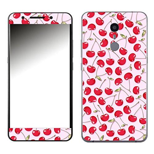 Disagu SF-107270_1079 Design Skin für UMi Super - Motiv Kirschen rosa