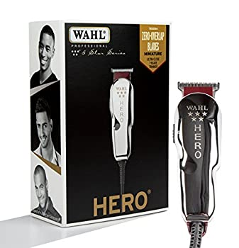 Wahl Professional 5-Star Hero Corded T Blade Trimmer #8991 – Great for Barbers and Stylists – Powerful Standard Electromagnetic Motor – Includes 3 Guides Oil and Cleaning Brush