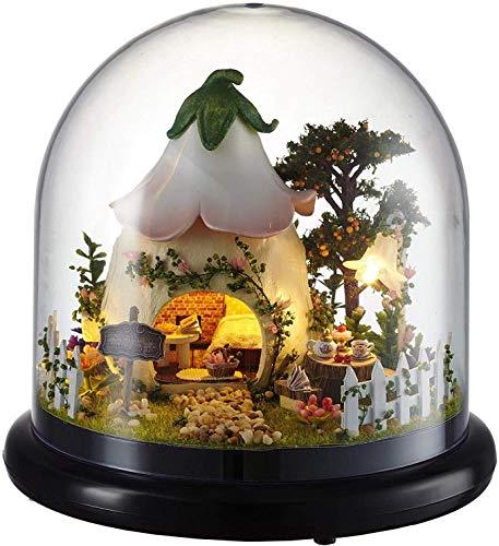 Studio Ghibli Totoro Night Light con Build Your Self-Night Lamp My Neighbor Totoro Table Light para dormitorio Lámpara de noche para niña Regalos de Navidad (herramienta de montaje)