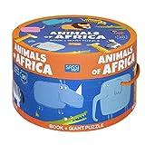 Animals of Africa. Ediz. a colori. Con puzzle (Sassi junior)