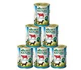 Dehner Best Nature Hundefutter Light, Rind mit Zucchini, 6 x 400 g (2.4 kg)