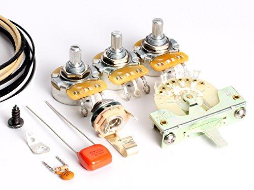 ToneShaper Gitarren-Verkabelungs-Set, für Fender Stratocaster, SSS1 (Blender Wiring)