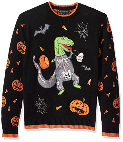 Blizzard Bay Men's Halloween Sweaters, T-Rex, XX-Large