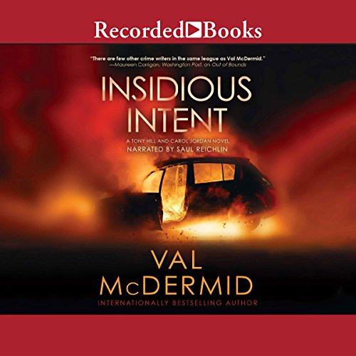 Insidious Intent audiobook cover art