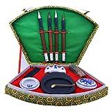 Set di strumenti per la pittura in pietra d'inchiostro in cinese Calligrafia scrittura pen...