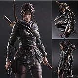 HSPHFX Lara Croft - Tomb Raider modèle Play Arts Améliorer Décoration dynamique mobile Joints Archer Poupées Divers Scène d'action Personnages Favoris Statues Collection Otaku Kid Man Lady Christmas P