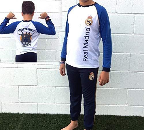 Pijama Real Madrid Adulto Invierno - XXL
