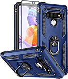 SunRemex LG Stylo 6 Case with Tempered Glass Screen
