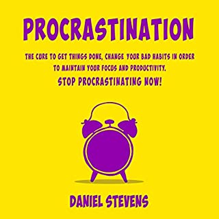 Procrastination audiobook cover art