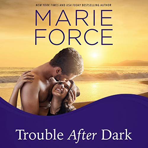 Trouble After Dark audiobook cover art