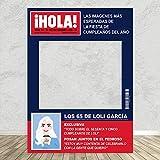 setecientosgramos Photocall Revista Hola| 80x110 | Ventana Revista Hola | Marco Revista Hola | PhotoBooth Revista Hola (Cartón 4mm)