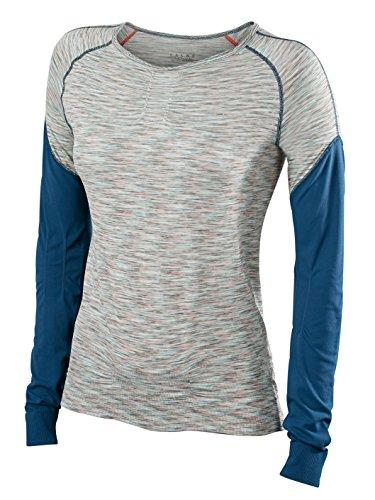Falke T-Shirt de Course à Manches Longues pour Femme XL Shade Melange