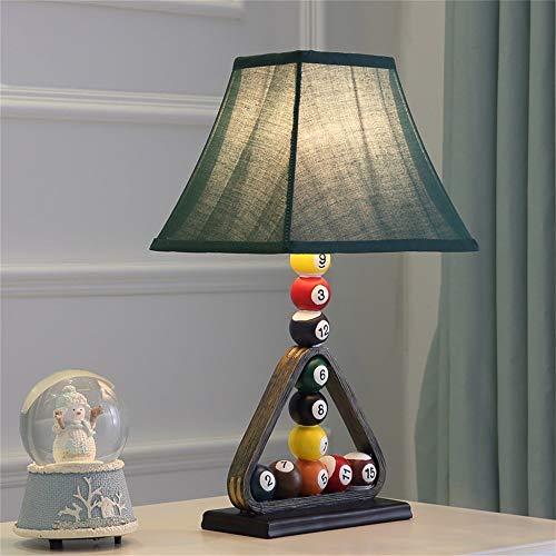 LKOER Lámparas de Escritorio Habitación para niños Dibujos Animados de Billar de Mesa lámpara de Mesa lámpara de Noche de Cama Creativa Moda Decorativa Lámpara de Mesa jinyang