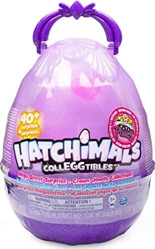 Hatchimals Collegtibles, Mega Confezione Regalo A Sopresa con 10 Hatchimals esclusivi e 1 Pixies Royal, 40 Soprese da Scoprire, dai 5 Anni