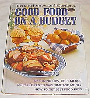 Better Homes and Gardens Good Food on a Budget