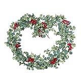 Amosfun Canna in Rattan Simulato Bacche Rosse Canna di Natale per Natale Colorato Realistico Realistico Canna in Rattan Rosso Bacche Canna Natalizia per Natale Casa Vacanze Al Coperto