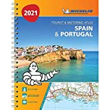 Spain & Portugal 2021 - Tourist and Motoring Atlas (A4-Spiral): Tourist & Motoring Atlas A4 spiral (Michelin Road Atlases)