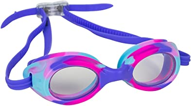 Splaqua Kids Swim Goggles for Boys and Girls - Adjustable Straps, Silicone Eye Seal, UV Protection and Anti Fog Lenses Swimming Goggle