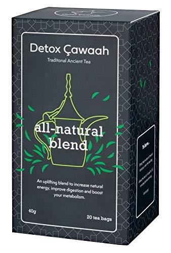 Detox Cawaah - Detox Tea for Weight Loss Burn Fat   Herbal Green Tea Body Cleanse Tea with Natural Ingrediants - 20 Tea Bags