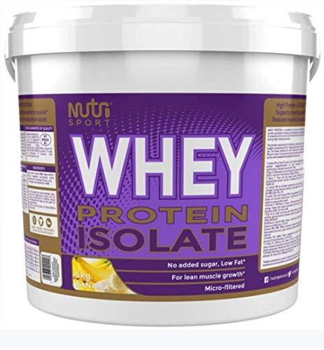 Nutrisport Whey Protein Isolate Banana 5000g