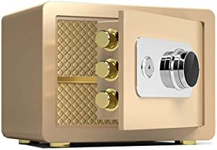 JBAMQ Mechanical Lock Cash Box Locker Jewelry Box Home Invisible All Steel Home Office Password Small Anti Theft Into The ...