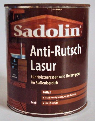 Sadolin Anti-Rutsch Lasur 0,75L, Teak