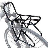 Back seat フロントパニエラック - マウンテンバイク - 鋼材のは簡単ではありませんへのキャリーキャリー自転車キャリアリアキャリアリアラゲッジラック、黒