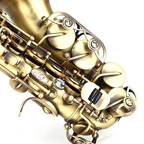Oreilet Saxofón Soprano, Saxofón de Alta Sensibilidad, Familia Infantil para Amigos Profesional