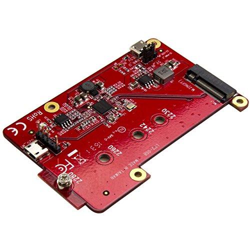 StarTech.com USB auf M.2 SATA Konverter für Raspberry Pi und Entwicklungsboards - M.2 NGFF SATA SSD Adapter