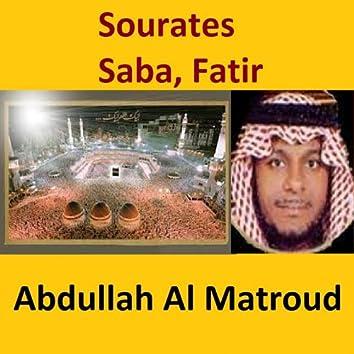 Sourates Saba, Fatir (Quran - Coran - Islam)