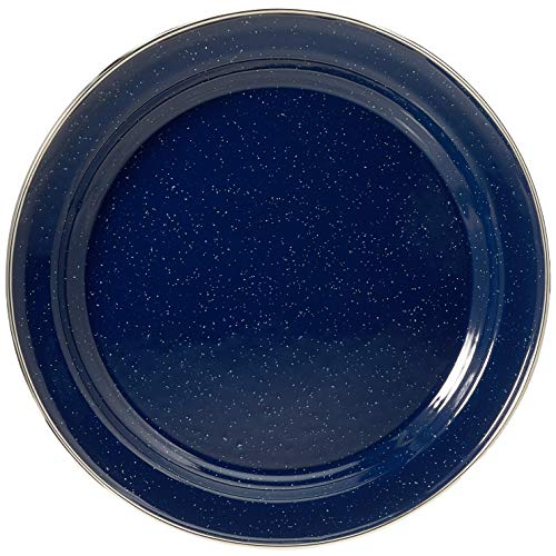 Relags Emaille Teller, Blau, 26 cm