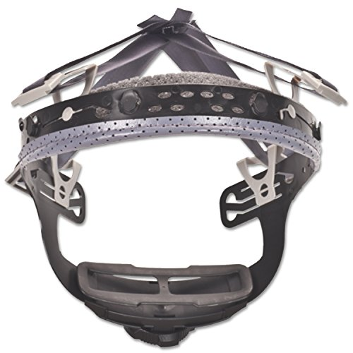 MSA 10148707 Fas-Trac III 4-Point Replacement Suspension for V-Gard Helmets, Large