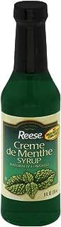 Reese Creme De Menthe Syrup, 8 Ounce - 12 per case.