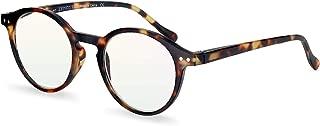 ZENOTTIC Blue Light Blocking Reading Glasses Classic Round Lightweight Frame Eyeglasses for Men and Women£¬for Computer Reading/Gaming/TV/Phones