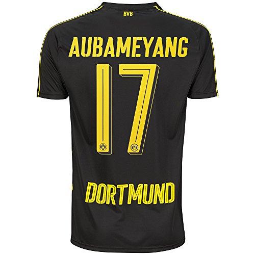 PUMA BVB Aubameyang Trikot Away 2017 schwarz 128