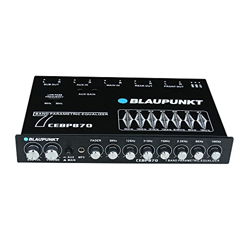 Blaupunkt CEBP870 7-Band Digital Equalizer